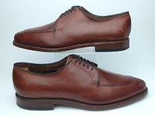 Allen Edmonds Mens 8 B Brown Delray Split Toe Oxford Shoes