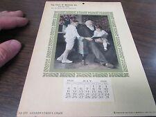 ORIGINAL - THE THOS D. MURPHY CO - RED OAK IOWA  - SAMPLE CALENDAR - 1926 - NM