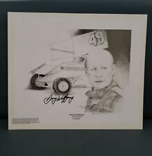 Vintage Sprint Car Doug Wolfgang Commemorative by Kay Kelly Signed 503/750