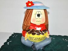 Cathy character cookie jar Nice condition 520 Free Ship in USA