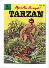 TARZAN #76  [1956 GD-VG]  CROCODILE COVER!