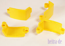 Tecnologia LEGO - 4 X Panel piegate 3x6x3 Giallo/Yellow Panel superfici curve lisce 24116 Merce Nuova