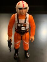 Vintage Luke Skywalker X-Wing Pilot Star Wars Action Figure 1978 Hong Kong