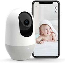 Nooie Baby Monitor, WiFi Pet Camera Indoor, 360-degree Wireless IP 360 Cam