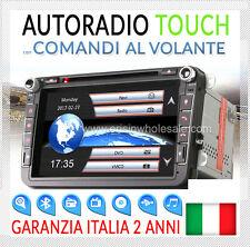 "AUTORADIO 8"" Navigatore VW GOLF 5 6 GTI,Passat,Tiguan,Touran,Scirocco SEAT SKODA"
