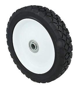 """Steel Metal Wheel With Bearings. 6"""" 7"""" 8"""" Fits Lawnmowers See Description."""