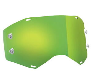 Scott Green Chrome Replacement Works Lens for Prospect Goggle 248776-284