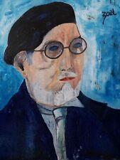 """ZAEL,  """" HENRI MANGUIN portrait """""""