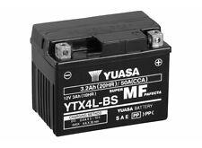 BATTERIE MOTO YUASA AGM YTX4L-BS 12V 3AH 50A