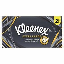 Kleenex Extra Large Tissues - White, Pack of 2