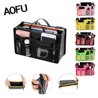 Travel Handbag Organiser Purse Liner Bag Women Storage Insert Makeup Tidy Bag