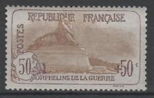 "FRANCE STAMP TIMBRE N° 153 "" ORPHELINS 50c+50c LION BELFORT "" NEUF xx TTB  N675"