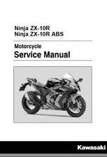 Kawasaki Ninja ZX-10R ZX10R 2016 2017 service manual on CD