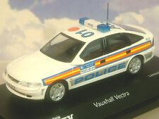 SCHUCO 1/43 DIECAST 1997 VAUXHALL VECTRA METROPOLITAN POLICE LONDON 04191 1/1000