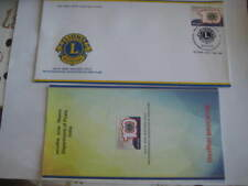 2018 India First Day Cover on The International Association of Lions Clubs