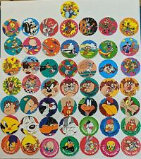 Walkers Loony Tunes Tazos full set of 50 RARE - Free Postage - Retro 90s -