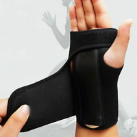 Breathable Carpal Tunnel Splint Wrist Support Brace Arthritis Sprain Strain