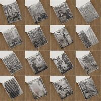Cute DIY Crafts Clear Sheet Transparent Stamps Silicone Rubber Scrapbooking