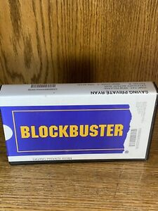 Blockbuster Video Official VHS Clamshell Case Saving  Private Ryan