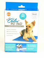 """K&H Coolin' Pet Pad Superior Cooling Power Small 11""""x 15"""" Blue No Toxic Gels New"""