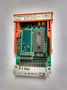 SIEMENS SIMATIC S5 6ES5 373 - 0LD11 Memory Submodule 8k x 8BIT