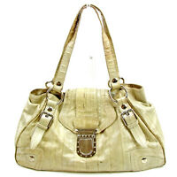 Dolce&Gabbana Shoulder bag Beige Woman unisex Authentic Used Y6606