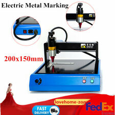 Electric Metal Steel Marking Machine Engraving Router Signage Iron Copper 400w