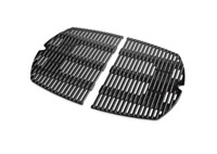 Weber Barbecue Gas Grill Replacement Cooking Grate Rectangle Cast Iron Outdoor