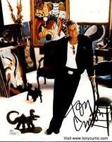 TONY CURTIS JSA COA HAND SIGNED 8X10 PHOTO AUTHENTICATED AUTOGRAPH