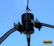 K5WZ 80 Meter Broadband Horse Fence HF Dipole Antenna / 6m-80m