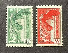 France 1937 *** Samothrace *** N°s 354 & 355 *** Neufs Sans Charnière  TBC  TTBE