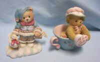 CHERISHED TEDDIES FIGURNES 1994 Ingrid, Madeline Friendship Enesco Collectibles