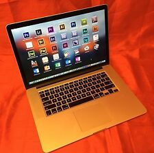 "MacBook Pro 15"" RETINA  Quad i7 TURBO 3.6GHz + COMPLETE STUDIO SET! BARELY USED"