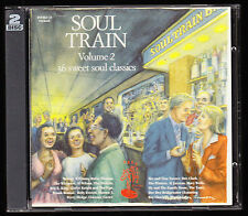 SOUL TRAIN, VOLUME 2 - 36 SWEET SOUL CLASSICS (1995) - 2 x CD ALBUM SET, VGC