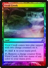 Vivid Creek FOIL Lorwyn PLD Land Uncommon MAGIC THE GATHERING CARD ABUGames