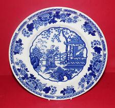 Mason's Ironstone * la Colección Azul Y Blanca * placa de coleccionistas chinos *