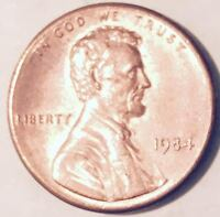 1984  TYPE 1 ERROR  LINCOLN CENT (MAJOR ERROR)  NICE COIN  #221