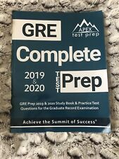 GRE Complete Test Prep: GRE Prep 2019 & 2020 Study Book & Practice Test Question