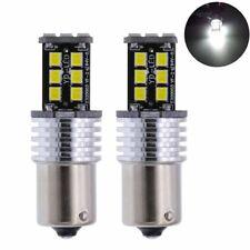 2x 1156 BA15S 15LED 2835 SMD White Car Light Bulb Error Free Lamp 12V New