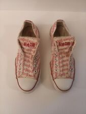 Converse Chuck All Stars (Product) Red Low Tops Sneakers Size Women 7.5  Men 5.5