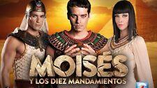 Moises y Los Diez Mandamientos... Telenovela Completa Brazileña 2 Temp 51 Dvds