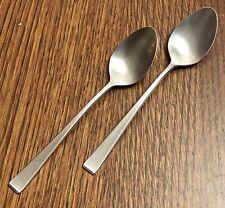 "Towle Supreme Cutlery Sateen MCM Satin Stainless Steel 2-Teaspoons 6 1/8"""