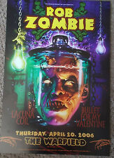 ROB ZOMBIE WARFIELD POSTER Bullet For Valentine Lacuna Coil BGP338 Craig Howell