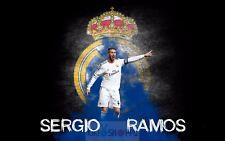 Poster A3 Sergio Ramos Real Madrid Futbol 04