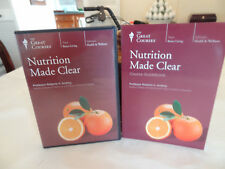 The Great Courses: Nutrition Made Clear, 6 DVD's & Course Guidebook