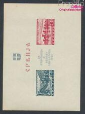 serbie (Allemand.occ.2.wk.) Bloc 2 avec charnière 1941 Samendriahilfe (8910506