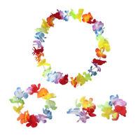 6 x Hawaiian leis Hula ALOHA HAWAII Hen Stag FIORE GHIRLANDA PARTY LOTTO