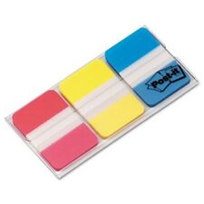 Post It Durable File Tabs 1 X 1 12 Assorted Colors 66pack Mmm686ryb