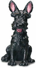 Angus the Black Scottish Terrier Dog Figurine/Statue