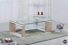 Glass Home Office/Study More than 200cm Wide Coffee Tables